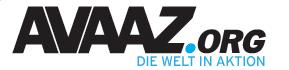 AVAAZ.ORG - Die Welt in Aktion