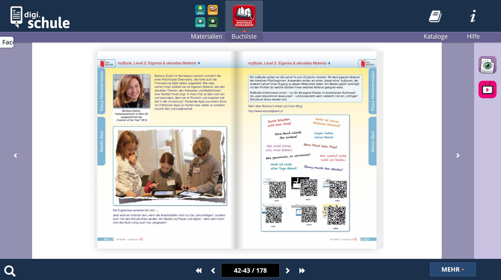 Learning is Personal! A Learning-Logbook for School: www.respekt.net